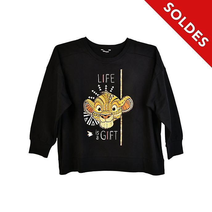 Disneyland Paris Sweat Mufasa pour femmes, Le Roi Lion