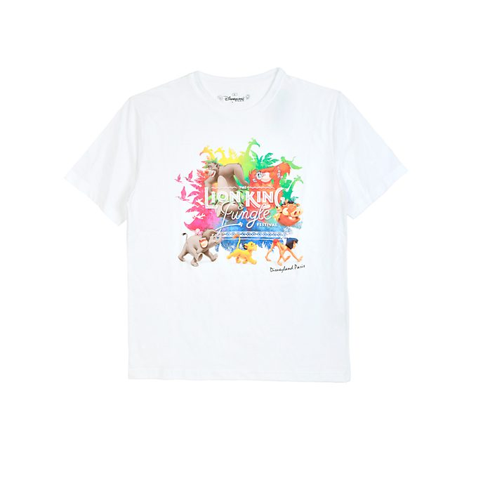 Disneyland Paris T-shirt Le Festival du Roi Lion et de la Jungle pour adultes