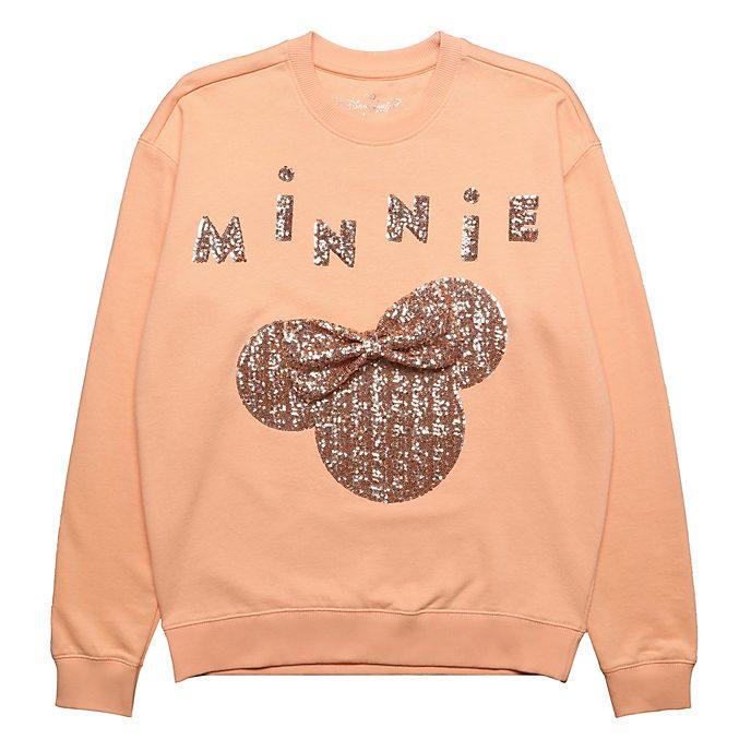 Disneyland Paris Minnie Mouse Rose Gold Sweatshirt For Adults