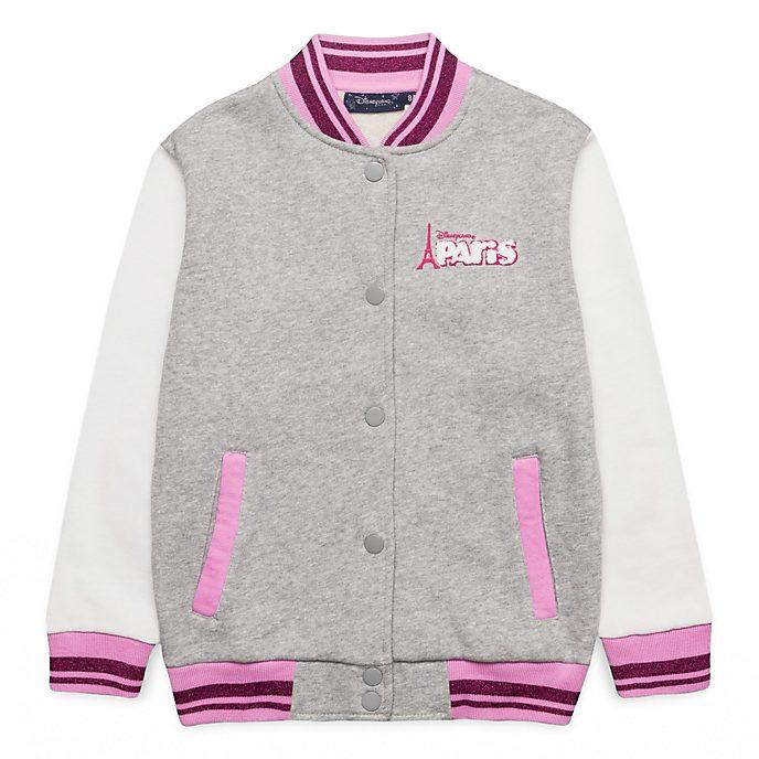 Disneyland Paris Minnie Mouse Varsity Jacket For Kids