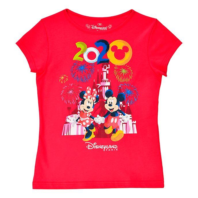 Disneyland Paris T-shirt Mickey et Minnie 2020 pour enfants