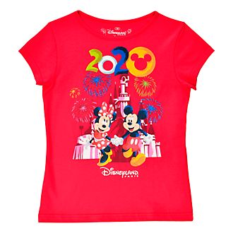 Disneyland Paris T-shirt Mickey et Minnie 2020 pour enfants