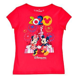 Disneyland Paris Mickey and Minnie 2020 T-Shirt For Kids