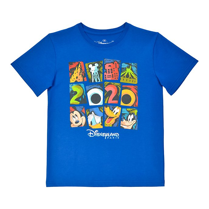 Disneyland Paris T-shirt Mickey et ses amis 2020 pour enfants