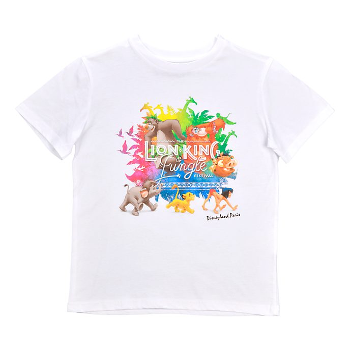 Disneyland Paris T-shirt Le Festival du Roi Lion et de la Jungle pour enfants