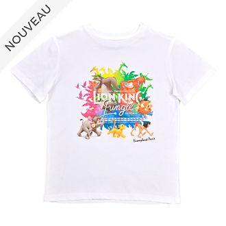 Disneyland Paris T-shirt Le Festival du Roi Lion et de la Jungle pour enfants