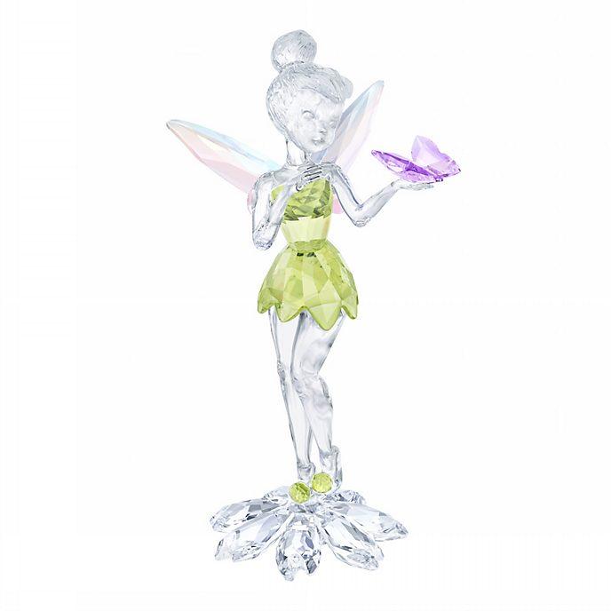 Swarovski - Tinkerbell mit Schmetterling - Kristallglasfigur