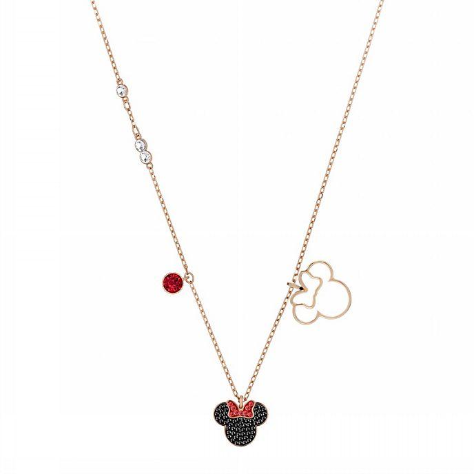 Swarovski collar bañado en oro rosa icono Minnie