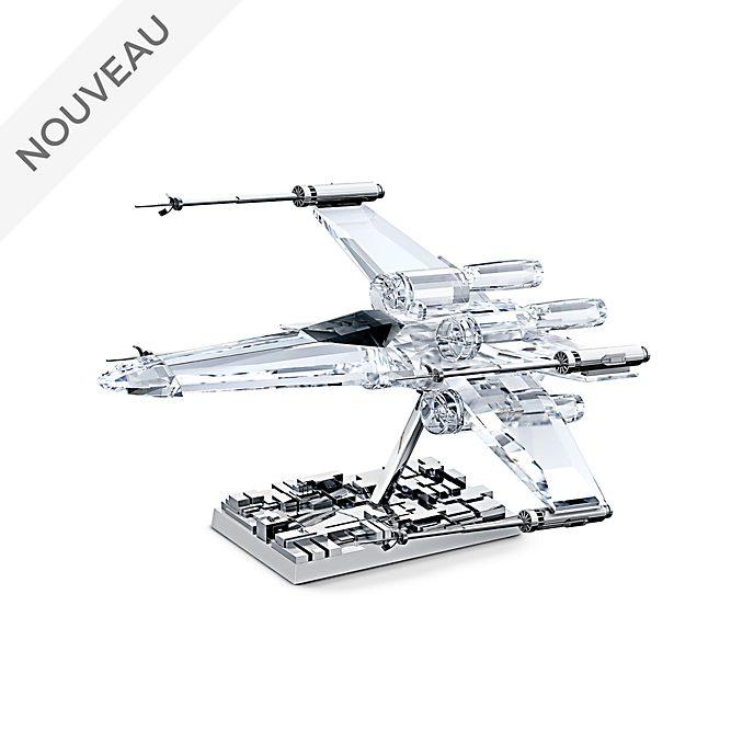 Swarovski Star Wars Figurine Chasseur X-wing en cristal