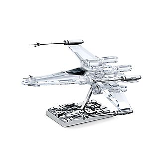 Swarovski Star Wars X-Wing Starfighter Crystal Figurine