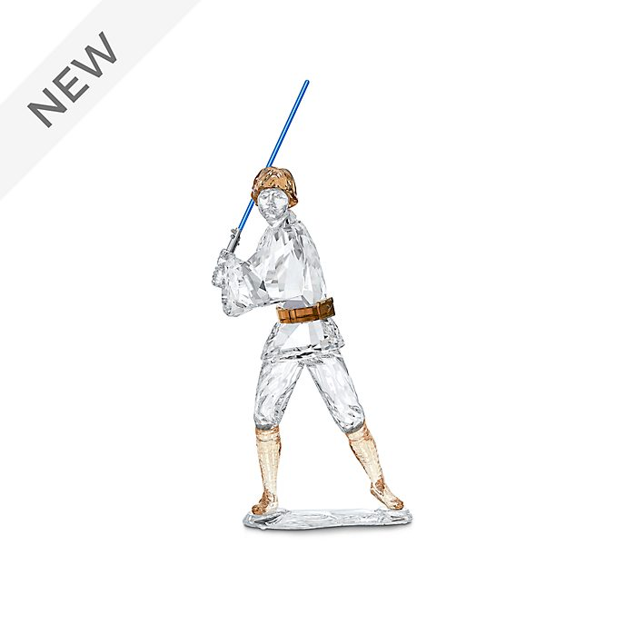 Swarovski Luke Skywalker Crystal Figurine, Star Wars