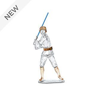 Swarovski Luke Skywalker Crystal Figurine, Star Wars