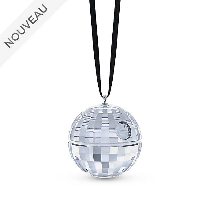 Swarovski Star Wars Décoration en cristal Étoile de la Mort à suspendre