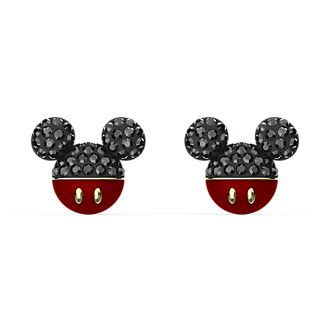 Swarovski Mickey Mouse Icon Gold-Plated Stud Earrings