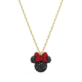 Swarovski Minnie Mouse Icon Gold-Plated Necklace