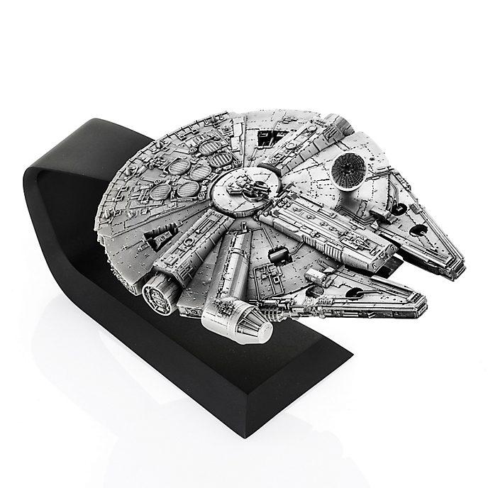 Royal Selangor Millennium Falcon Figurine, Star Wars
