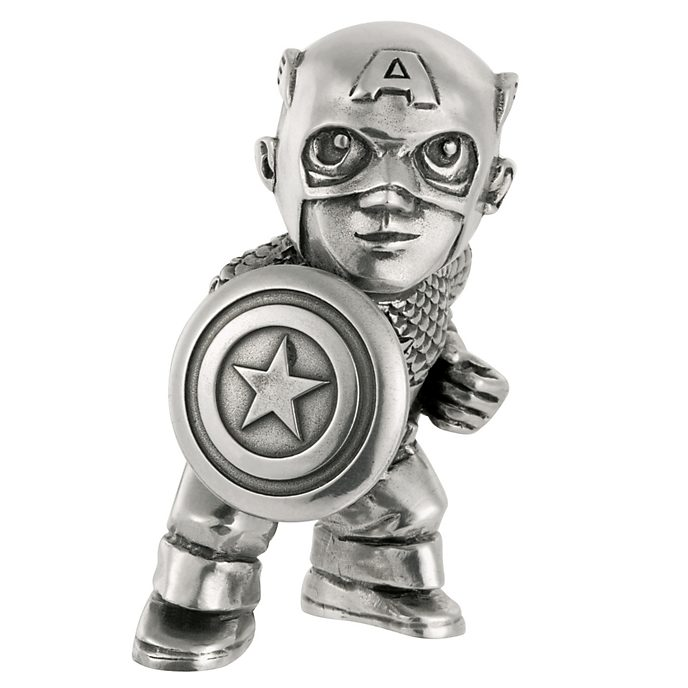 Royal Selangor Captain America Mini Figurine