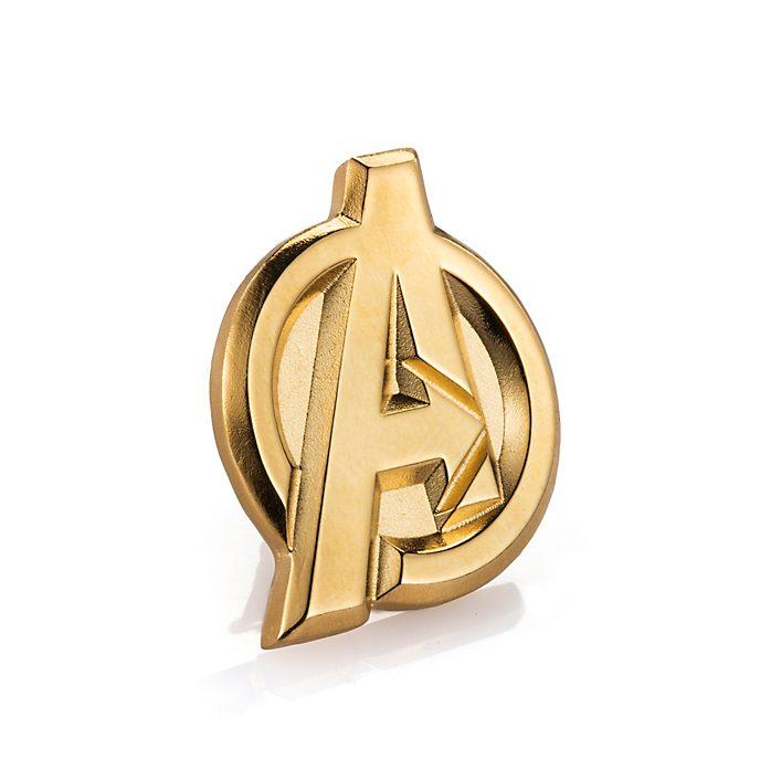 Royal Selangor - The Avengers - Goldfarbene Reversnadel
