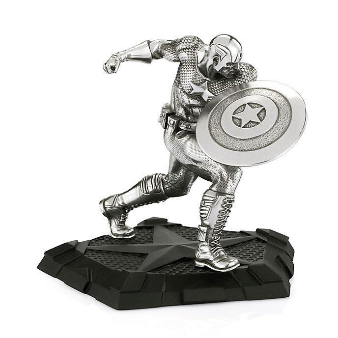 Figurita primer Vengador, Capitán América, Royal Selangor