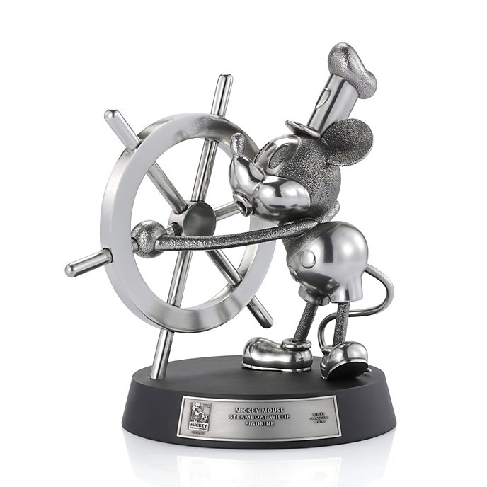 Personaggio Steamboat Willie edizione limitata Royal Selangor