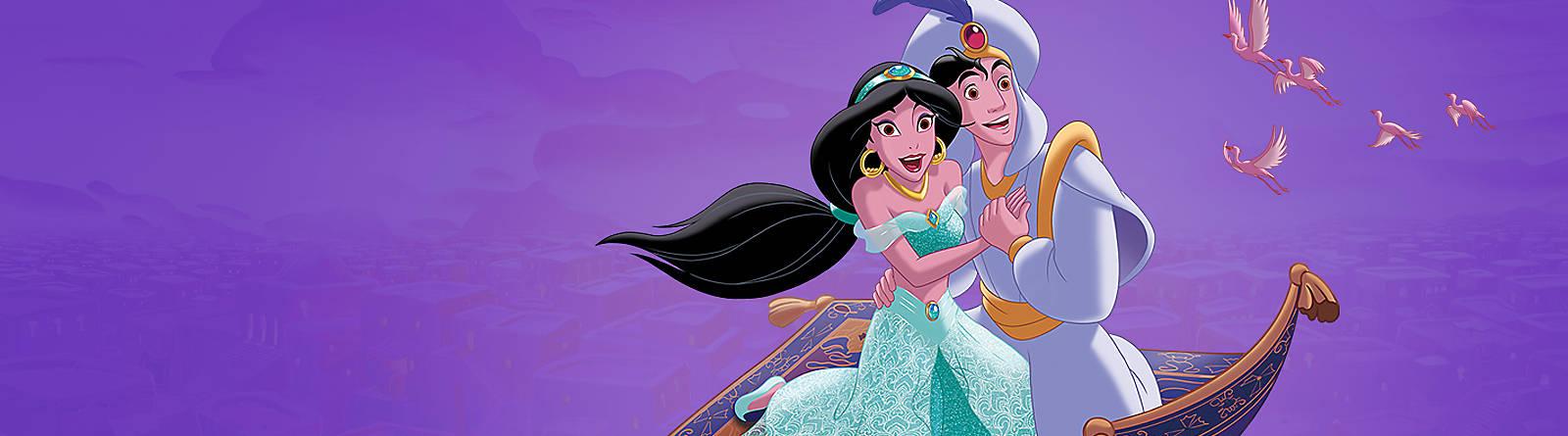 Aladdin Sali sul tappeto volante assieme ad Aladdin e vieni a scoprire una magica linea dedicata a lui che include peluche, oggetti da collezione originali, capi di abbigliamento e molto altro ancora targato Disney