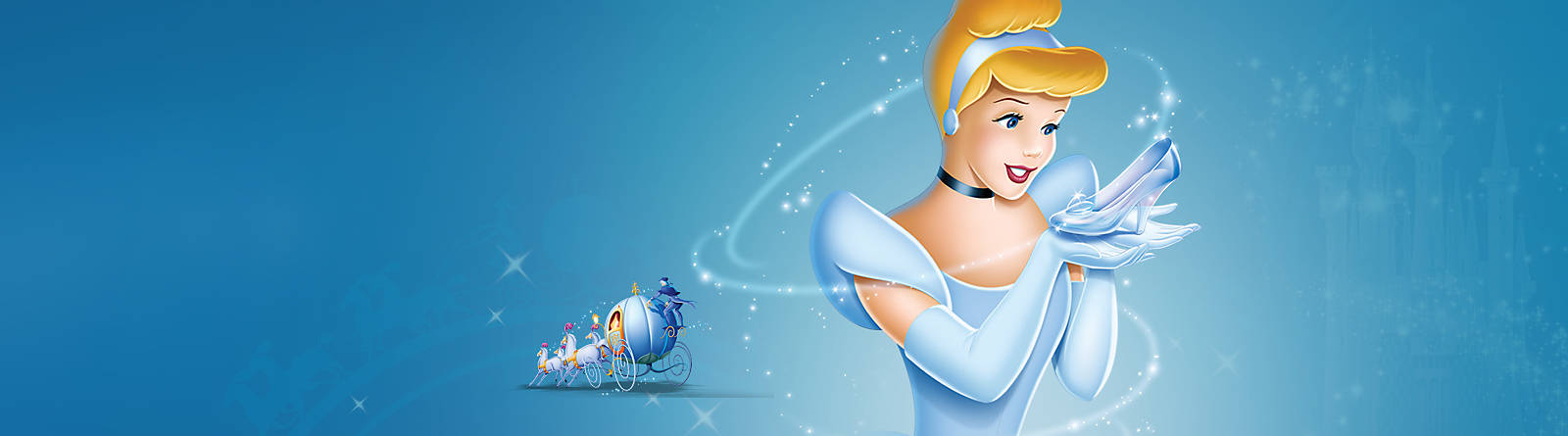 Cinderella Bibbidi Bobbidi Boo!  Discover our range of Cinderella costumes, toys, accessories and more