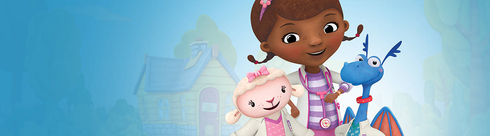 Docteur la Peluche Oubliez vos soucis grâce à Docteur la Peluche ! La petite fille est là pour soigner tous ses amis et leur donner de bons conseils.