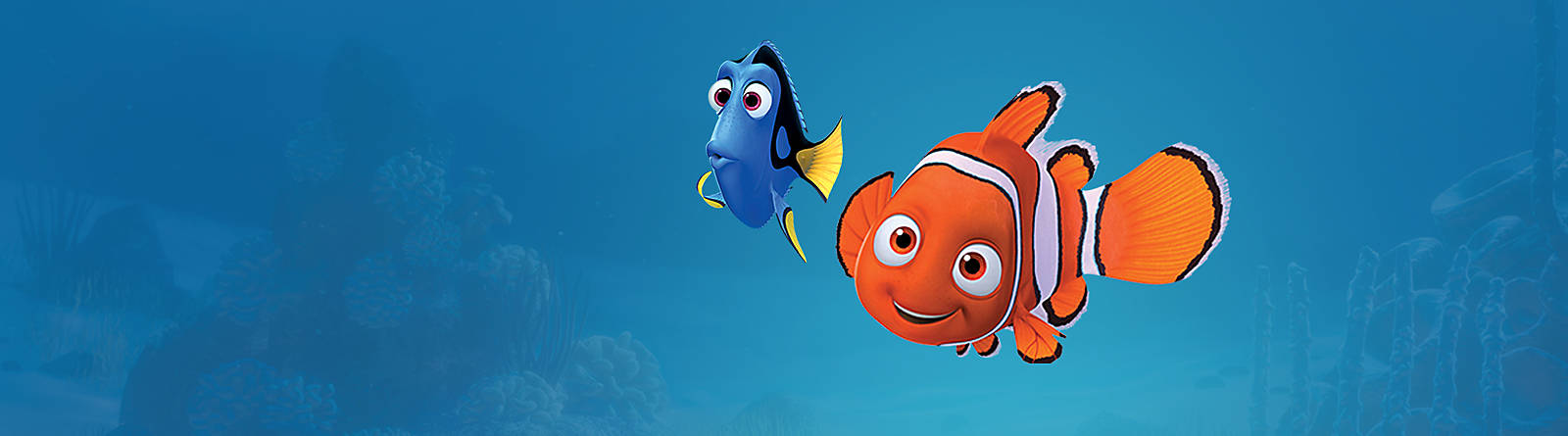 Finding Nemo Discover our Finding Nemo range including soft toys, playsets, collectibles and more