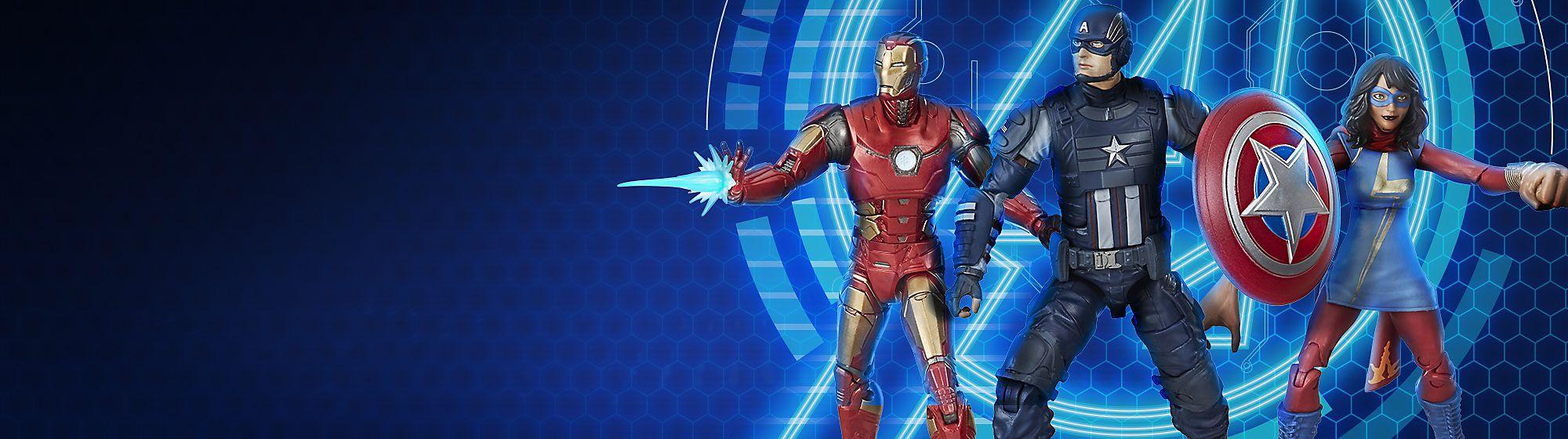 Marvels Avengers Gameverse Entdecke aufregende neue Produkte inspiriert von den beliebtesten Marvel Computerspielen