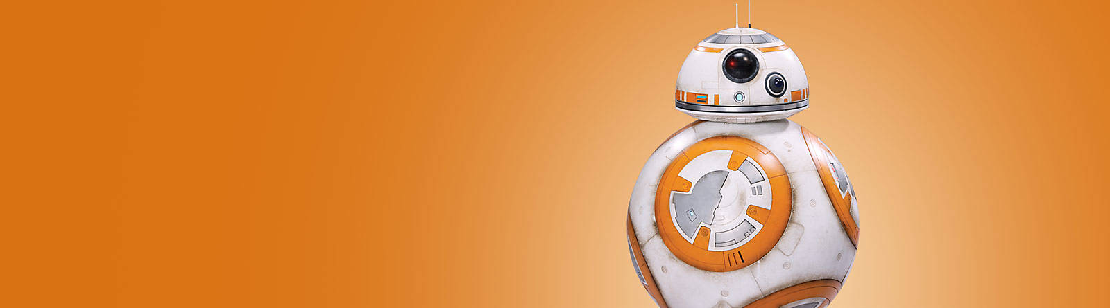 BB-8 This is the droid you're looking for.  Discover our range of BB-8 toys, figurines and more