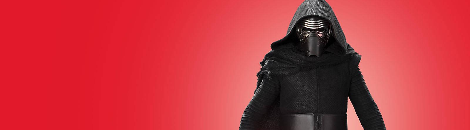 Kylo Ren Con los productos de Kylo Ren de 'Star Wars' podrás sentir todo el poder de tus personajes favoritos. Hazte con ellos.