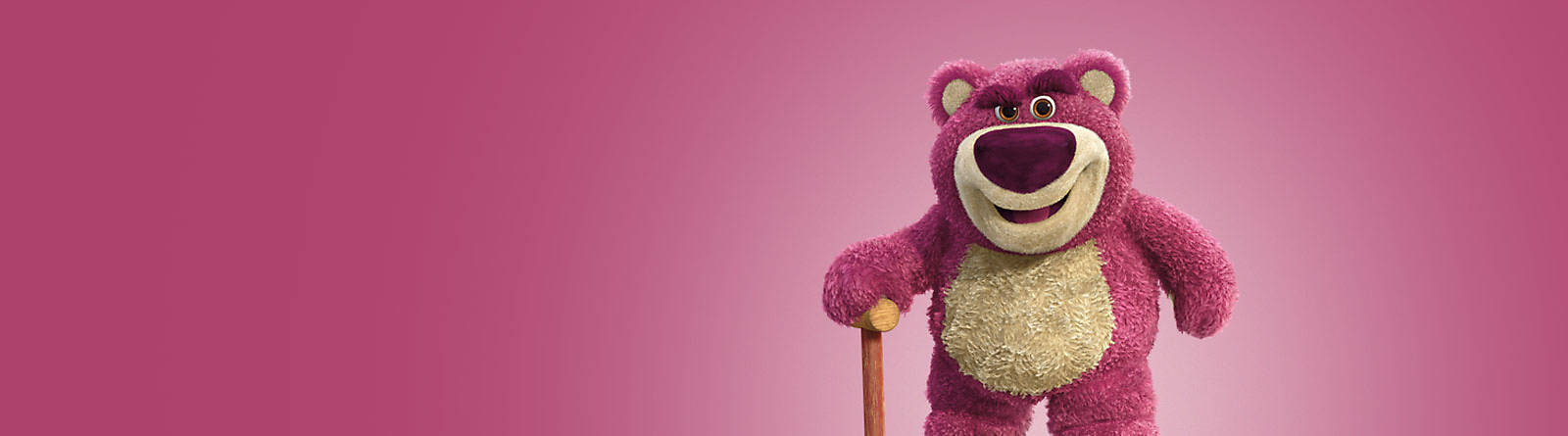 Lotso He's Lots-O'-Huggin' Bear but you can call him Lotso. Get Lotso soft toys, collectibles and more